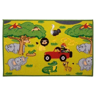 Alfombra infantil Animalitos 50 x 80 cm