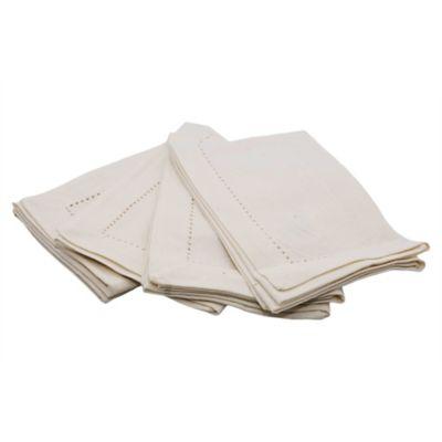 Pack de 4 servilletas blanca