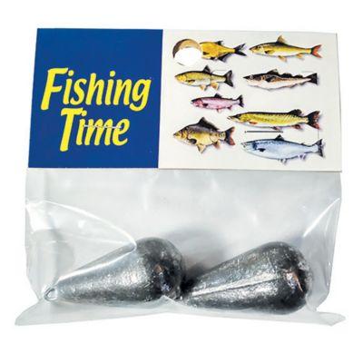 Pack de 2 plomadas de pesca 100 gr