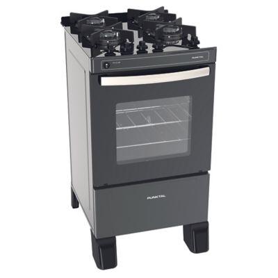 Cocina a gas PK-GL4B 48 cm 4 hornallas negra
