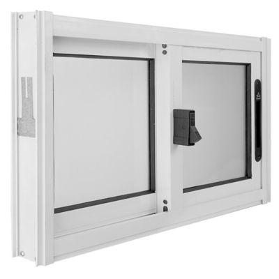 Ventana de aluminio S20 blanca 60 x 40 cm