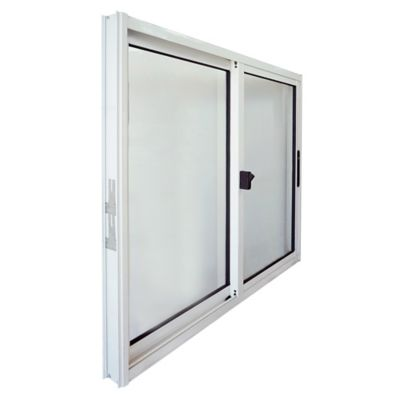 Ventana de aluminio S20 blanca 100 x 100 cm