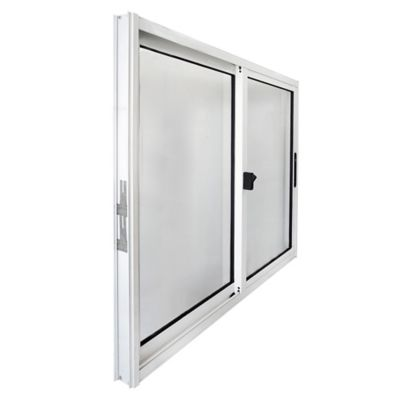 Ventana de aluminio S20 blanca 120 x 100 cm