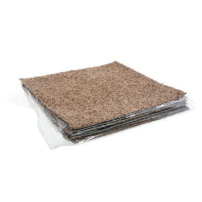 Pack de 10 alfombras 45 x 45 cm capuccino 2.09 m2