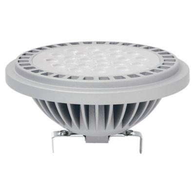 Lámpara de luz LED Ar111 G5.3 11 w 12 v cálida