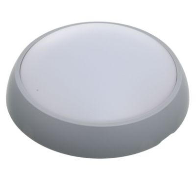 Tortuga redonda 8 w gris 17 cm cálida