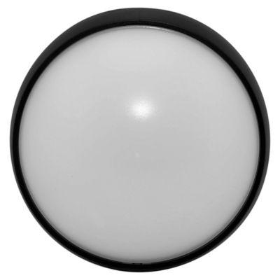 Tortuga redonda 15 w negra 26 cm fría