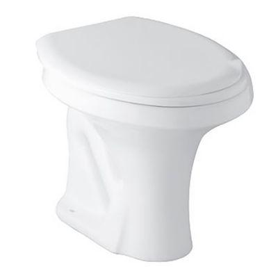 Inodoro corto Zip blanco