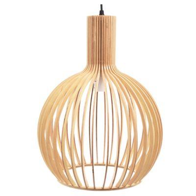 Lámpara colgante Naturelle 1 luz E27