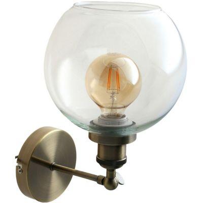 Aplique Asti bronce 1 luz E27