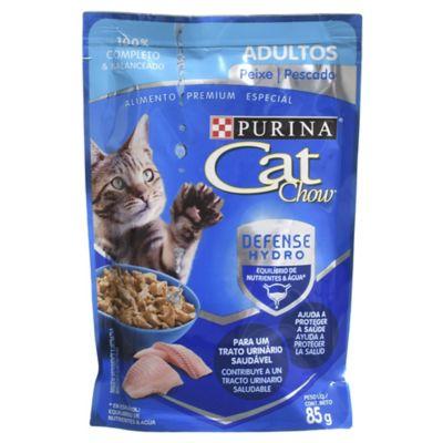 Alimento para gatos adultos pescado 85 g XL