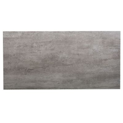 Porcelanato satinado 42.5 x 85 cm Tokio gris 1.81 m2