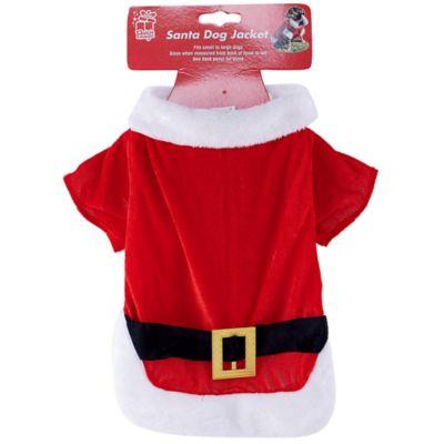 Traje Papá Noel para mascota