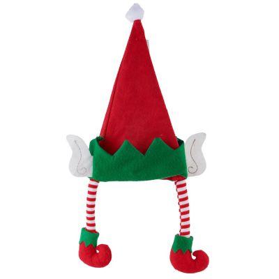 Gorro Elfo 25 x 44 cm con patas