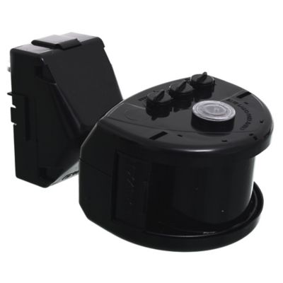 Sensor de movimiento exterior 180° frontal negro