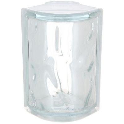 Ladrillo de vidrio esquinero Olas
