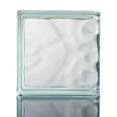 Ladrillo de vidrio terminal olas