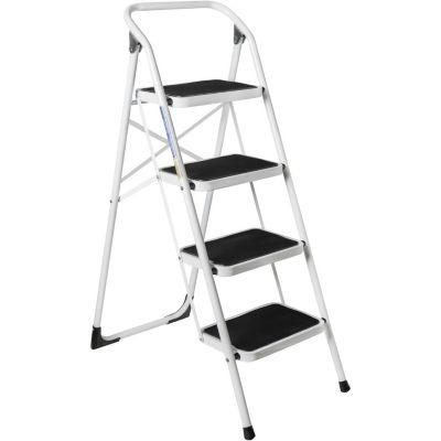 Escalera de acero 1.3 m 4 escalones
