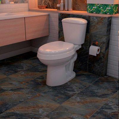 Piedra 20 x 10 cm Pizarra negro y óxido 0.40 m2