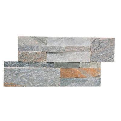 Revestimiento piedra 35 x 18 cm Mosaico multucolor 0.44 m2