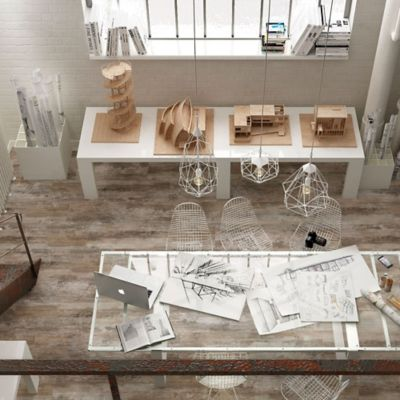 Porcelanato mate 23 x 120 cm Tiber natural 1.10 m2