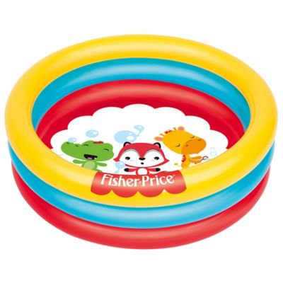 Piscina inflable Fisher Price con pelota 91 x 25 cm