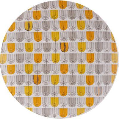 Plato multicolor 27 x 27 cm