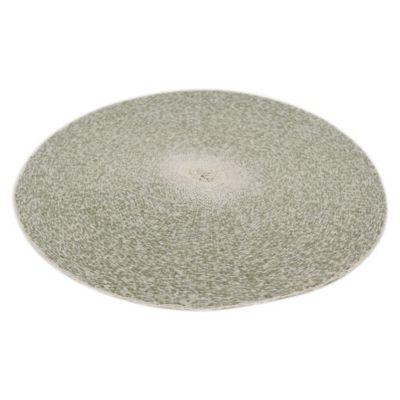 Individual redondo Round 38 cm gris