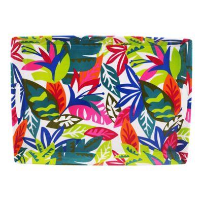 Bandeja rectangular multicolor Hello Summer 46 x 33 cm