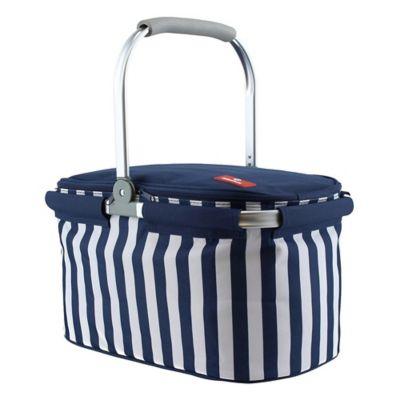 Canasto picnic térmico azul