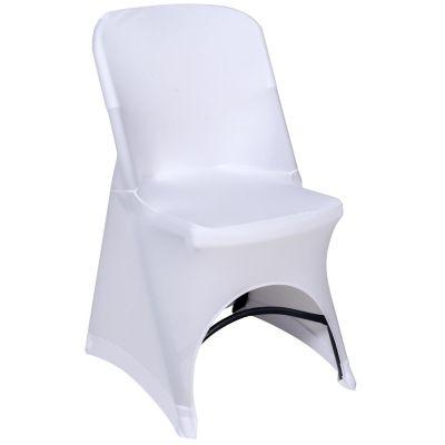 Funda para silla 60 x 48 x 87 cm blanca