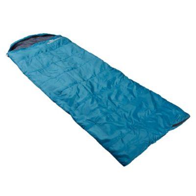 Sobre de dormir con gorro turquesa 220 x 75 cm