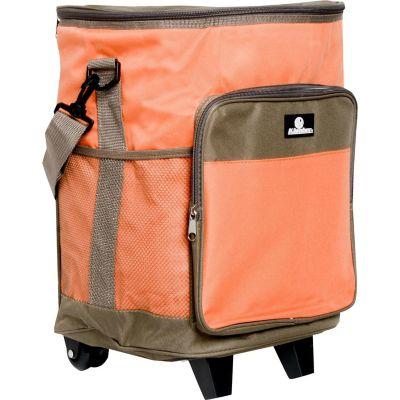 Conservadora Soft con ruedas y tirador 25 L naranja y taupe