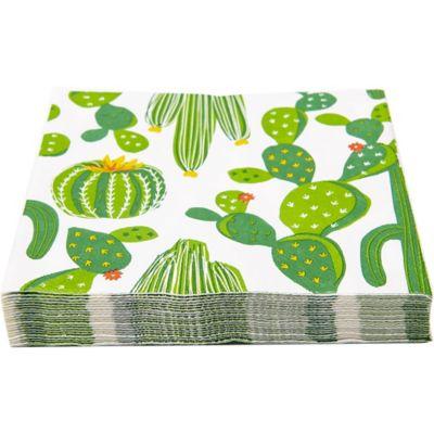 Servilleta de papel 33 x 33 cm cactus