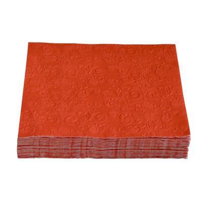 Servilleta de papel 33 x 33 cm roja