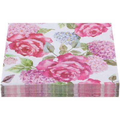 Servilleta de papel 33 x 33 cm flores