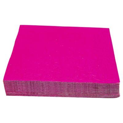 Servilleta de papel 33 x 33 cm fucsia