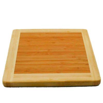 Tabla de picar cuadrada bamboo