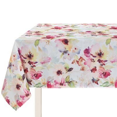 Mantel rectangular Floral 180 x 240 cm multicolor