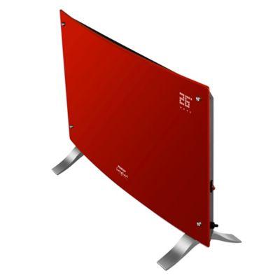 Vitroconvector PE-VQD20R digital curvo 2000 w rojo