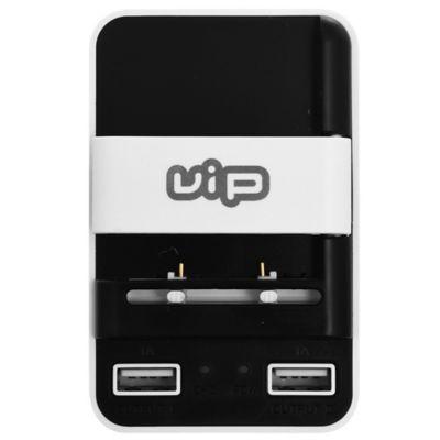 Cargador universal de batería con 2 USB 1A