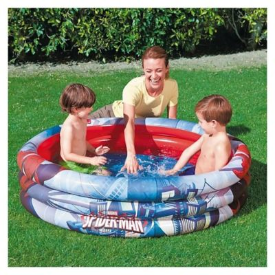 Piscina inflable Spider Man 122 x 30 cm