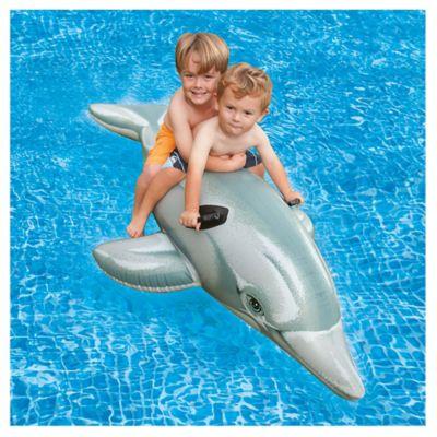 Inflable flotador Delfín 175 x 66 cm