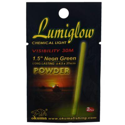 Luz química amarillo y verde