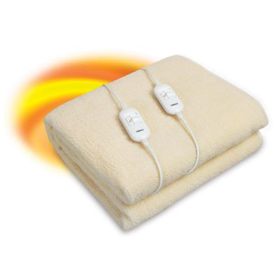 Calienta cama lana sintética 2 plazas