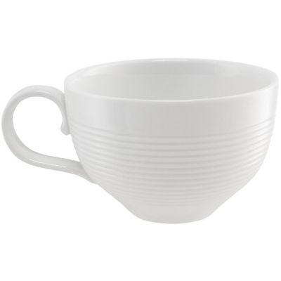 Taza de café blanca