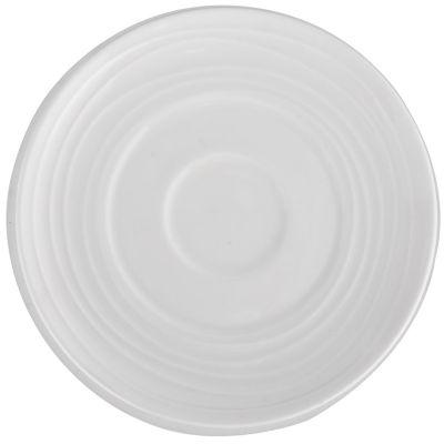 Plato blanco Ring 12 cm