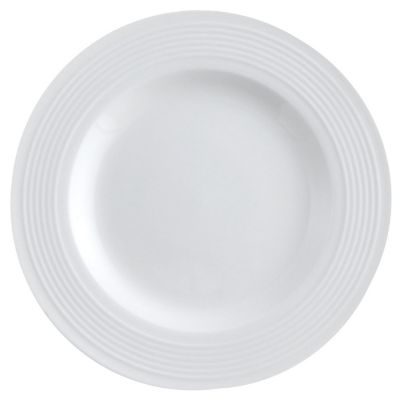 Plato de postre blanco 20,6 x 20,6 cm