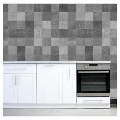 Cerámica de interior 37.5 x 75 cm Amberes gris 2.25 m2