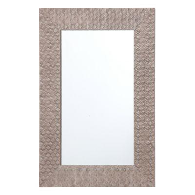 Espejo Diamond gris 40 x 60 cm